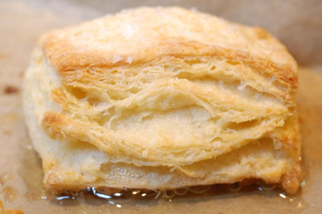 We try Silverton's buttery biscuits