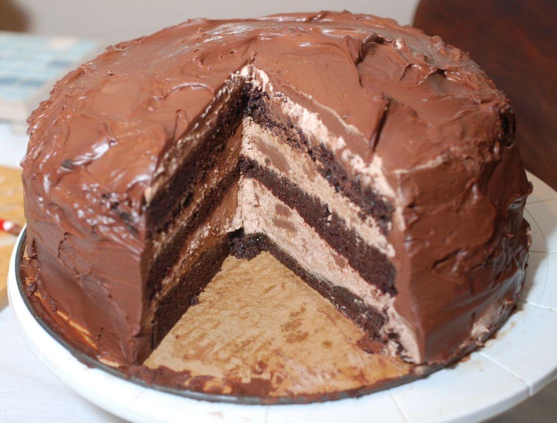 Chocolate Bavarian Torte