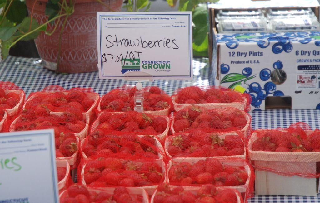 conv strawberries