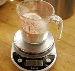 flour weighing