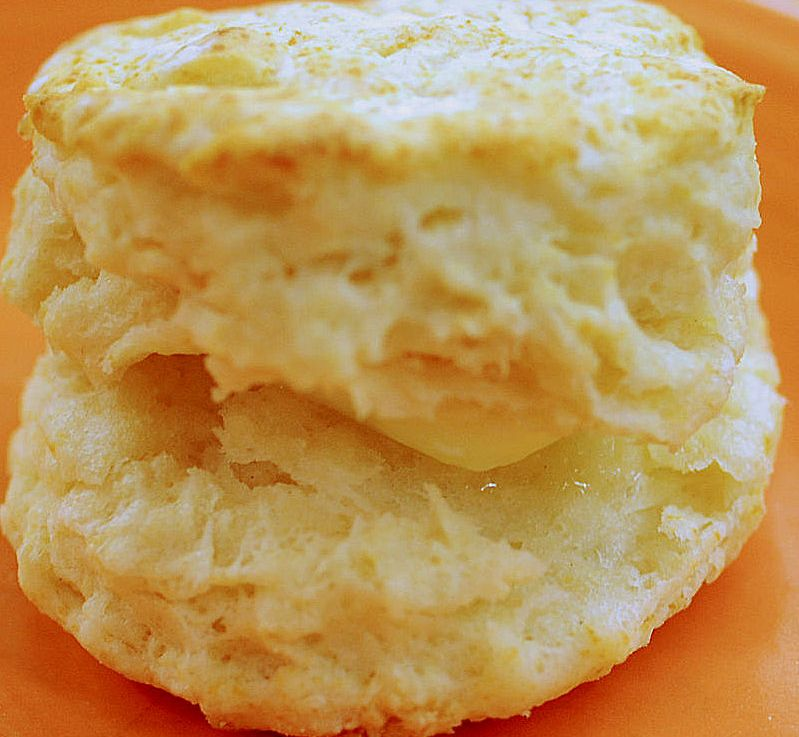 Buttermilk biscuits in 15minutes