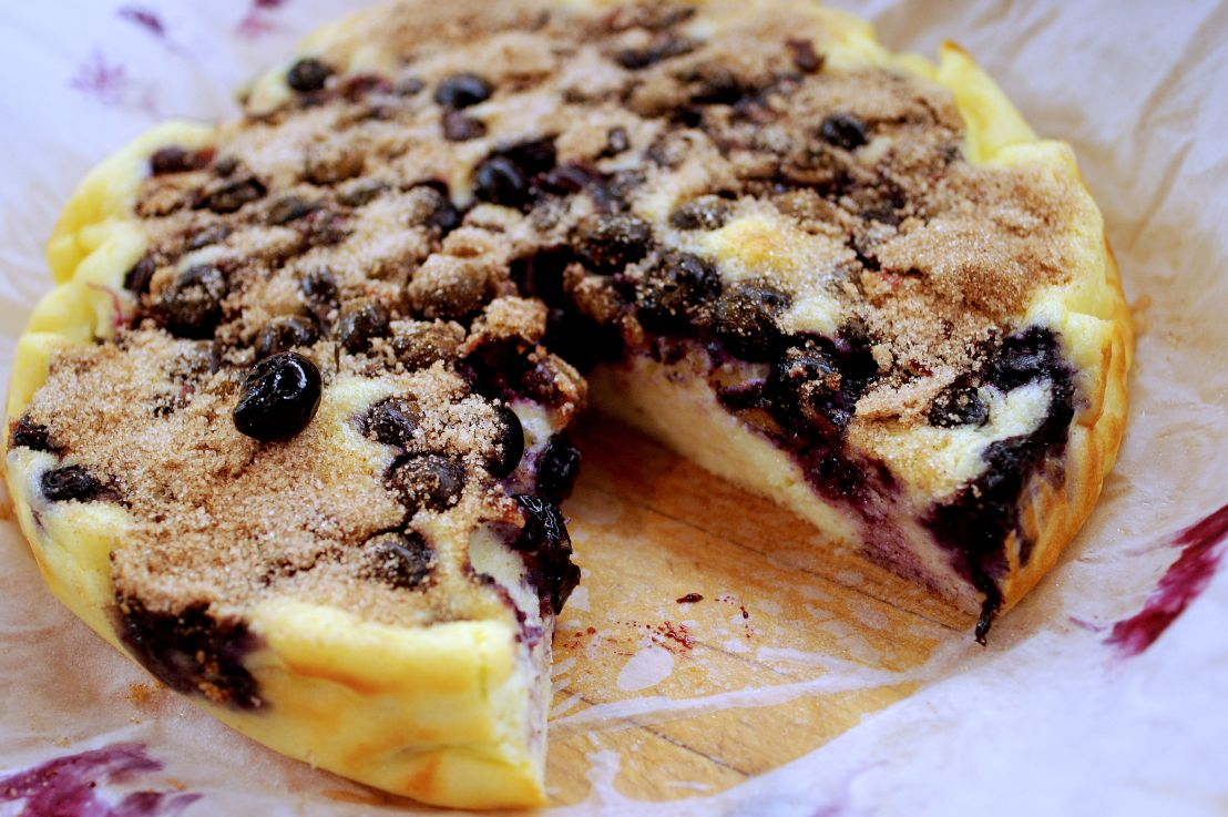 Blueberry breakfast cake – from King Arthur
