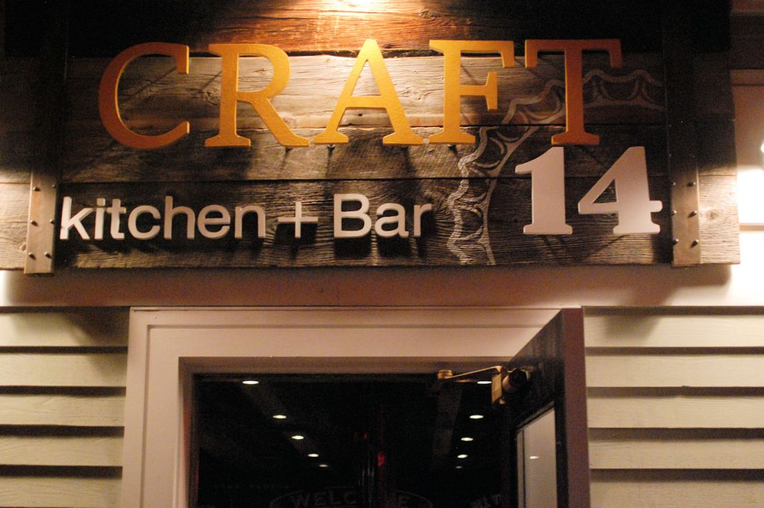 Craft 14 Kitchen and  Bar opens in Wilton