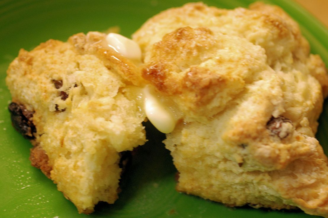 Easy breakfast scones