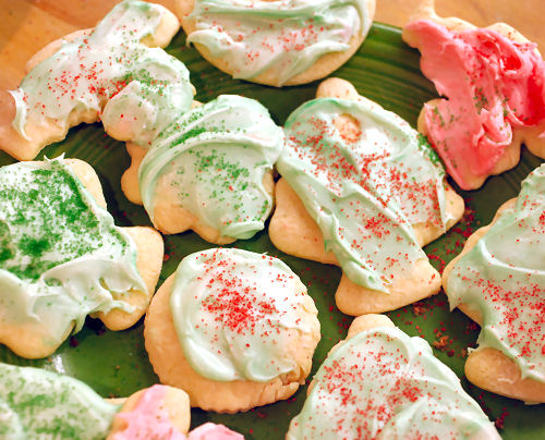 Sour cream Christmas cut-outcookies