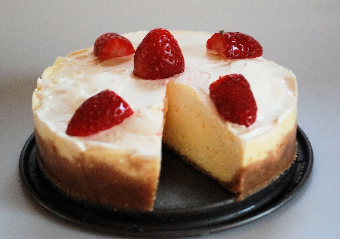 Easy cheesecake in a pressure cooker