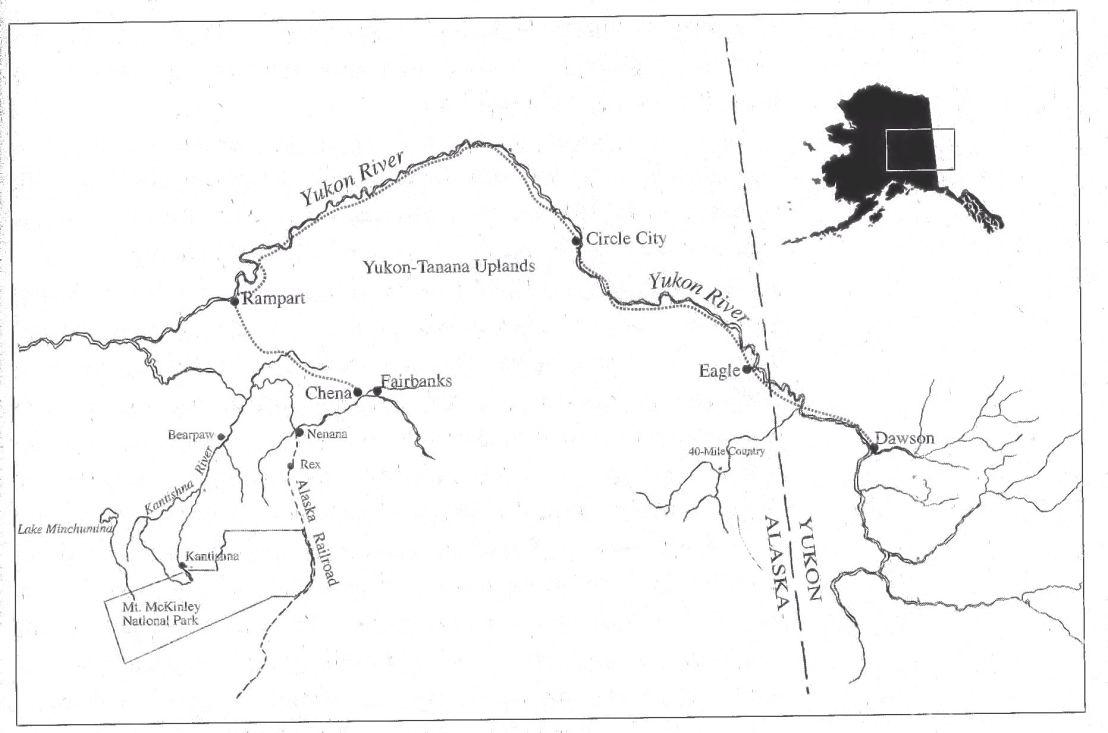 Alaskan Legends Joe And Fannie Quigley  Food Science Institute - Florida uplands map