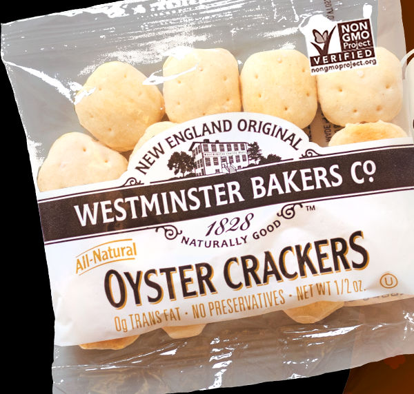 Non-GMO oyster crackers: they are really in the soup