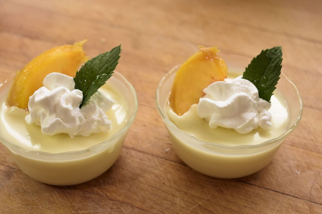 Lime Posset: a cool refreshing dessert