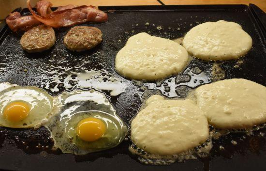 add eggs