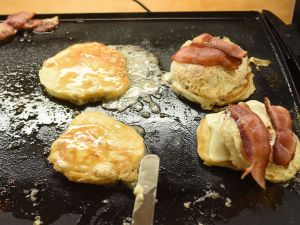 butter pancakes