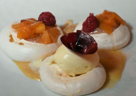 peach meringue