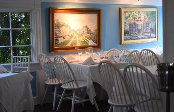 the menu is similar to other years and like many nantucket restaurants it dominated by - L Shape Restaurant 2015