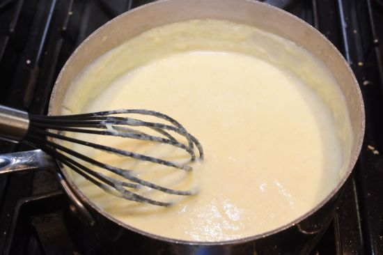milk mixture