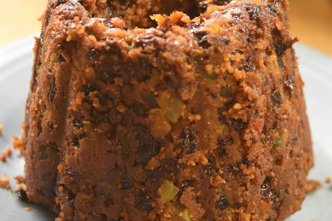 English Plum Pudding – using an Instant Pot