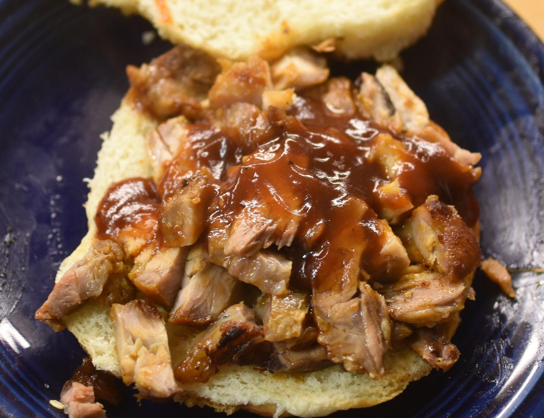 pulled pork sammich