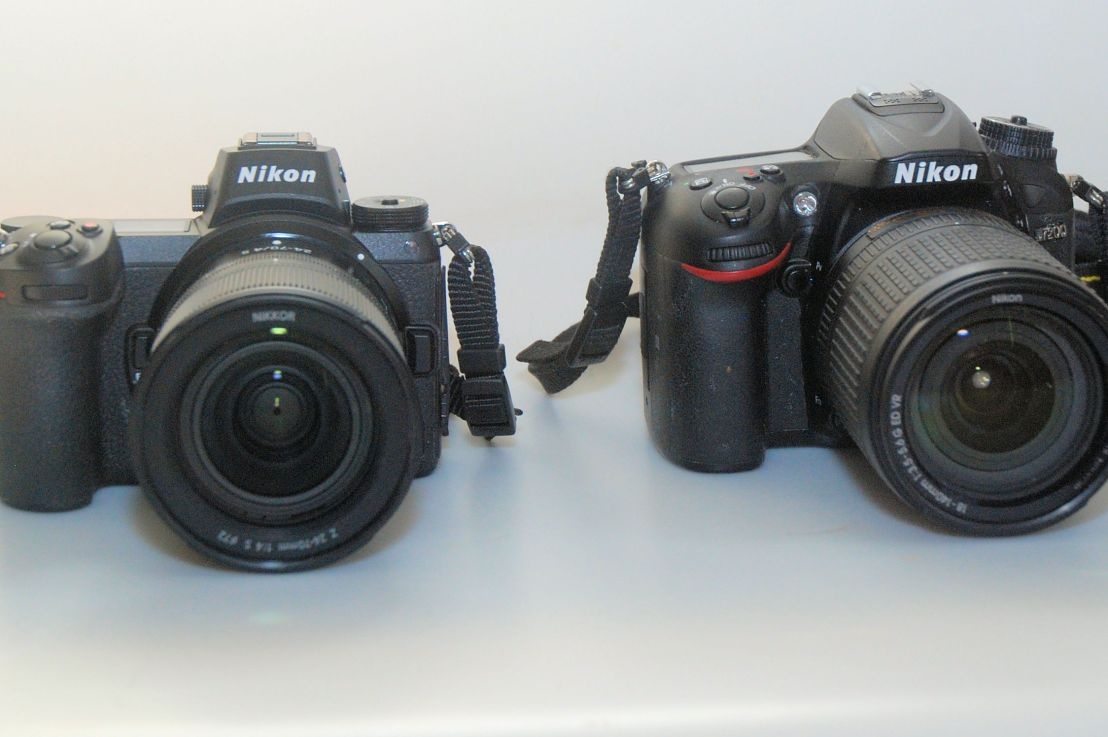 The new Nikon Z6 versus the D7200