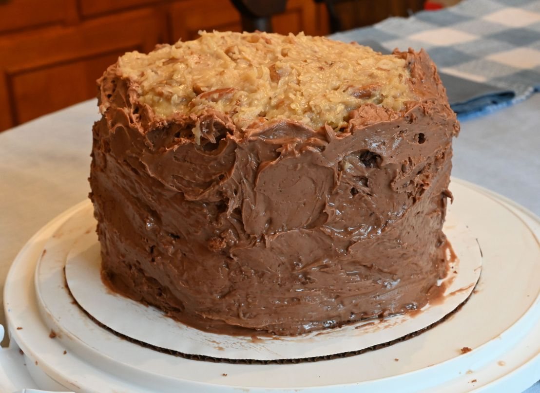 German chocolate cake you'll love