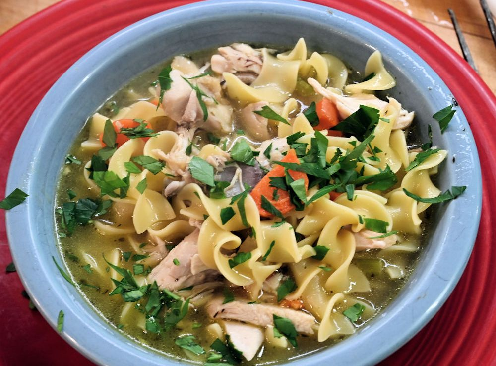 Chicken Noodle Soup in an Instant Pot