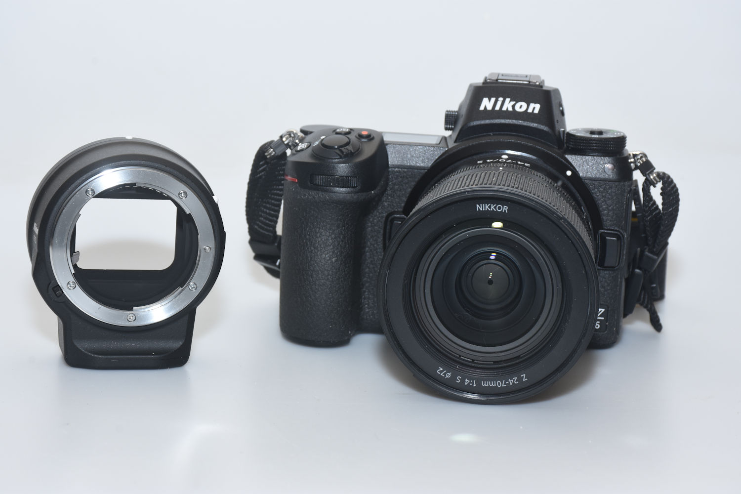 z6 and adapter