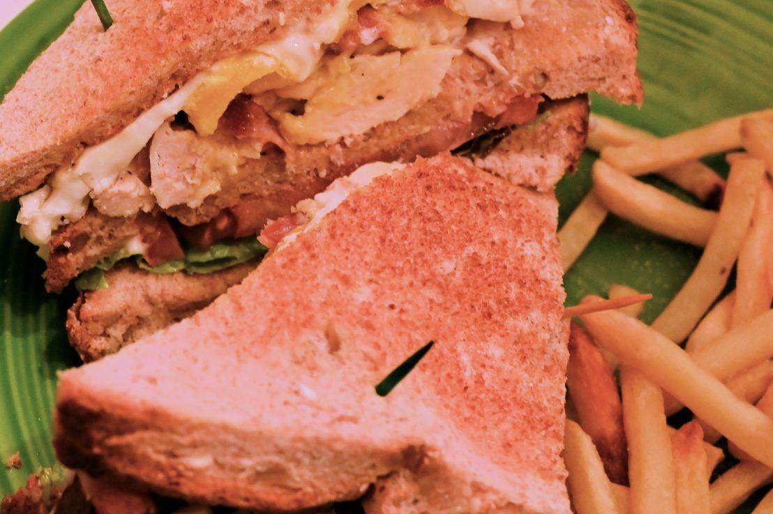 A Roman clubsandwich