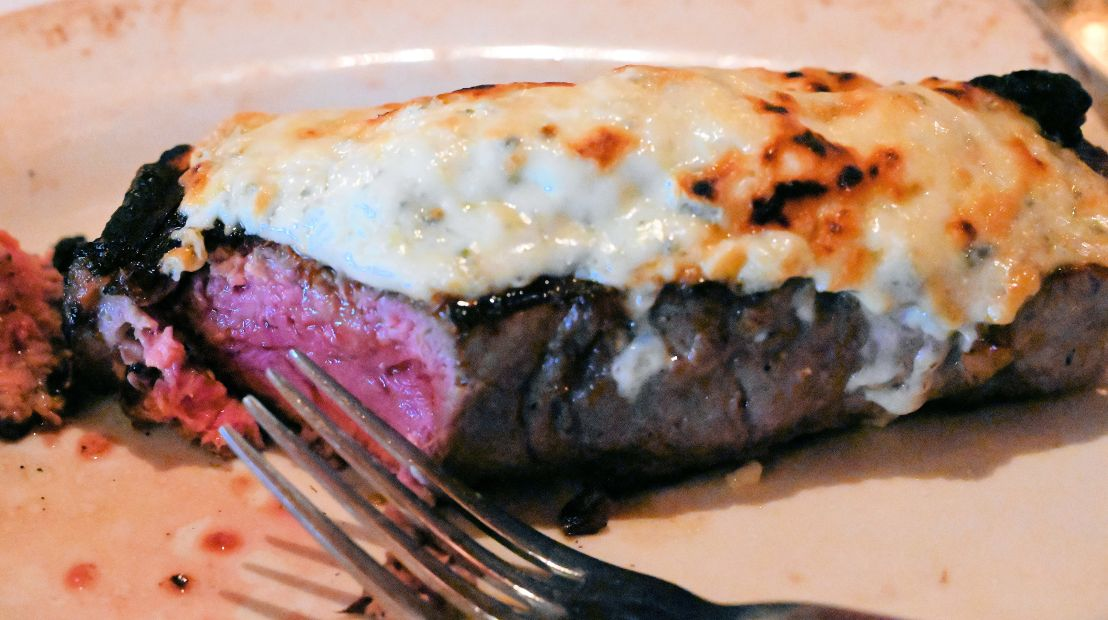 steak au blue cut