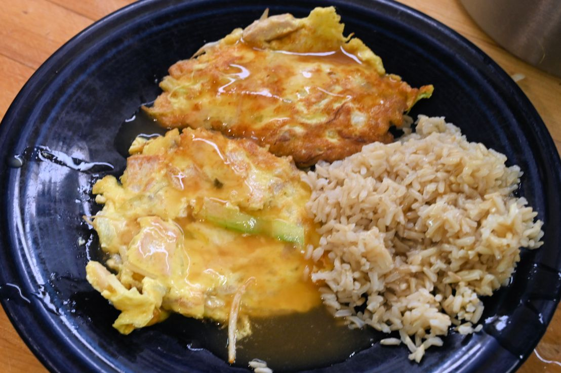Egg Foo Yung: an easy dinner