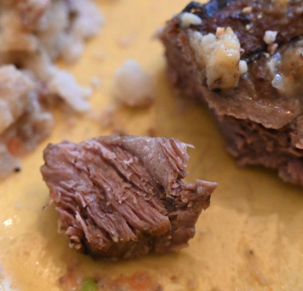 beef cut opne
