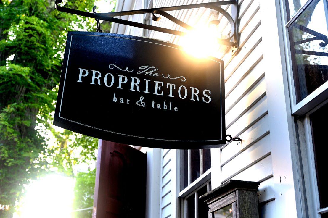 The Proprietors: an excellent Nantucketevening